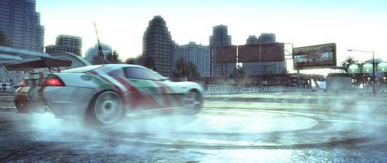Burnout Paradise cares about the environment?