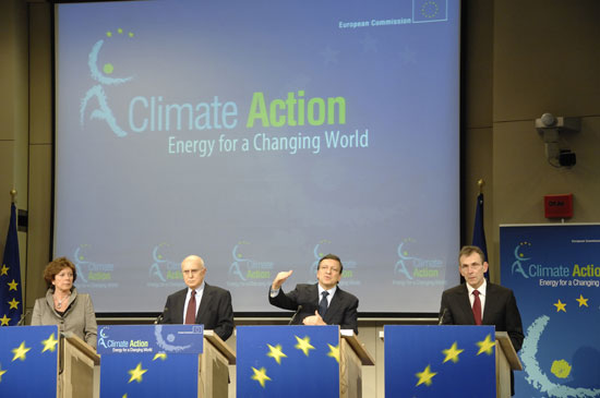 EU agrees on a plan of action against climate change