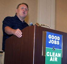 Teamsters Take Part in Environmental Summit in Oakland - July 23, 2008