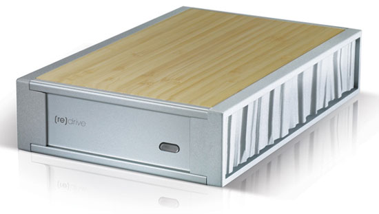 SimpleTech [re]Drive: Bamboo External Hard Drive
