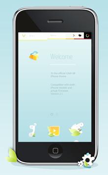 Gaia iPhone Theme