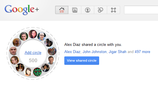 Green your Google+ stream with this environment circle