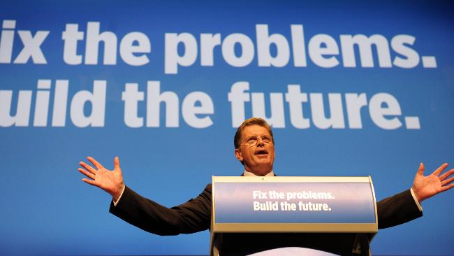 Ted Baillieu is the leader of the new ultra-conservative and pro-coal, anti-environment government of Victoria, Australia.