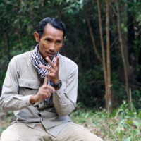 Pictured here is Chut Wutty, a prominent Cambodian anti-logging activist, who was fatally shot after military police opened fire near a Chinese-built hydroelectric dam in Koh Kong earlier this year.