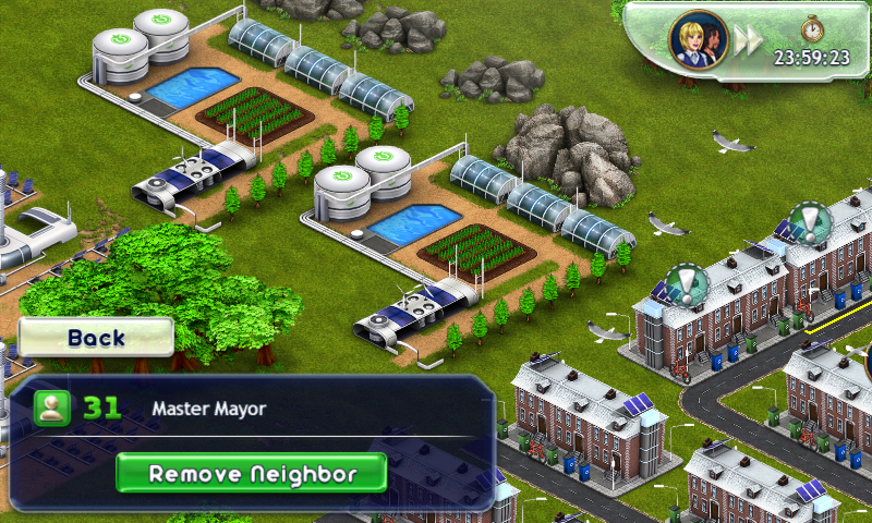 Green neighbouring city