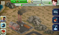 Dirty coal plant