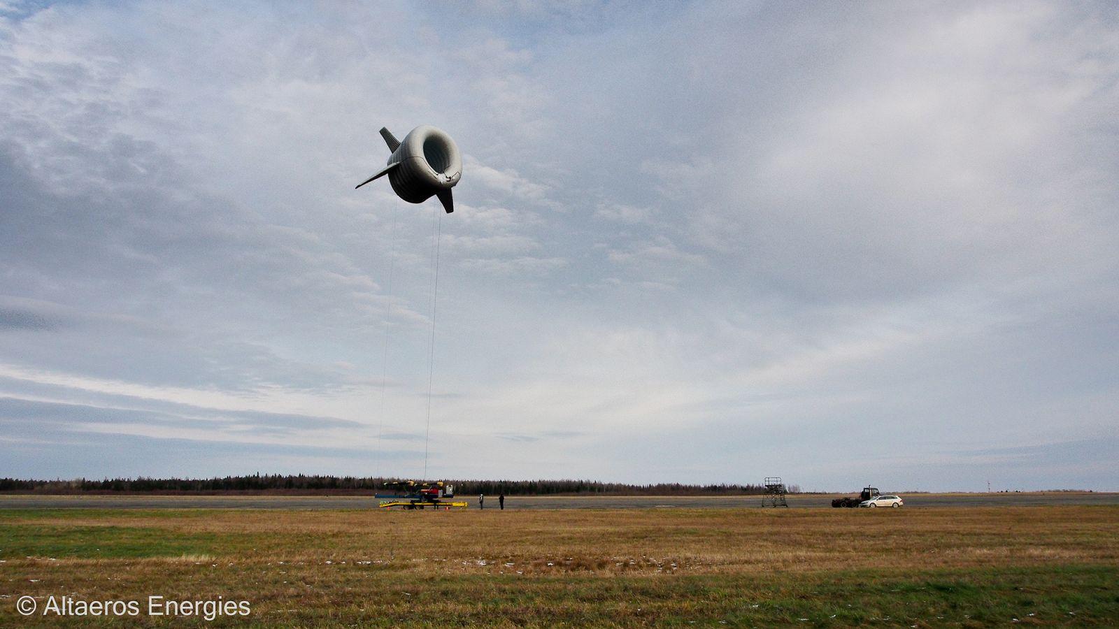 Airborne Wind Turbine
