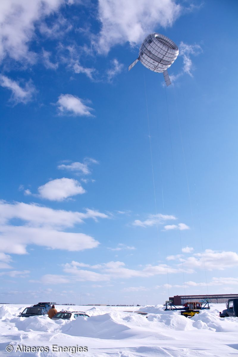 Altaeros Prototype Flight High