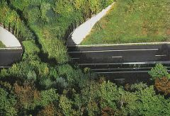 Ecoduct in France