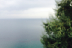 Blurred view Of The Sea