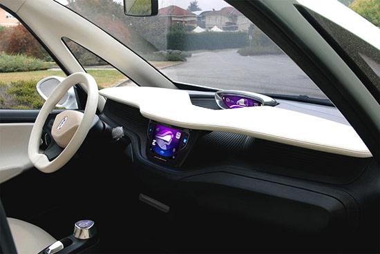 BlueCar dashboard