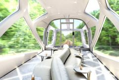 Japanese luxury train for the 1%