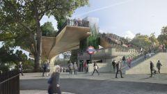 Garden Bridge - underground station