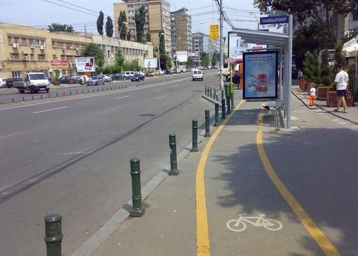Crappy bike lane