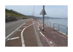 Crappy bike lane