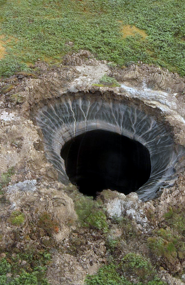 Methane hole in Siberia