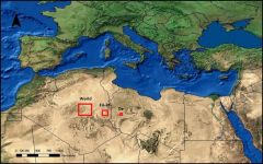 The space required to power the world with solar panels
