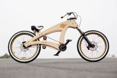 DIY lowrider beach cruiser bicycle