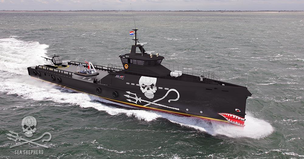 Sea Shepherd's new 'dream' ship
