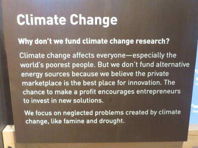 The Bill and Melinda Gates Foundation on climate change