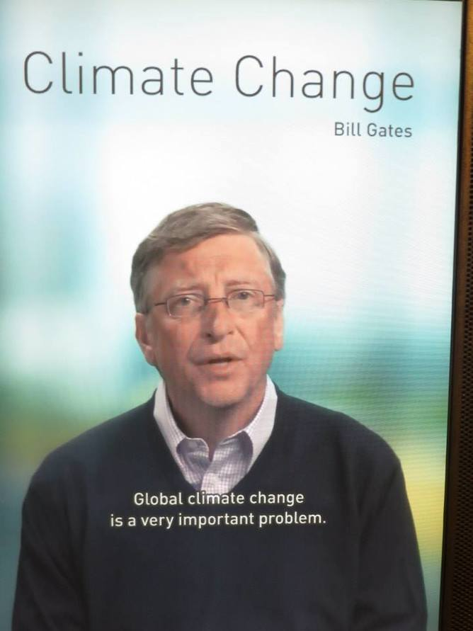 Bill Gates on climate change