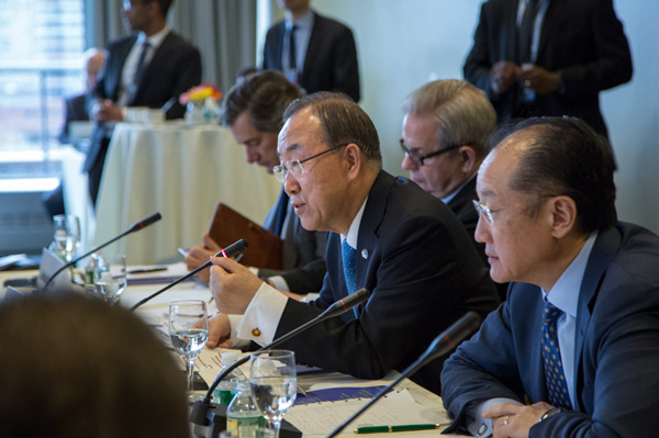 UN and World Bank press conference