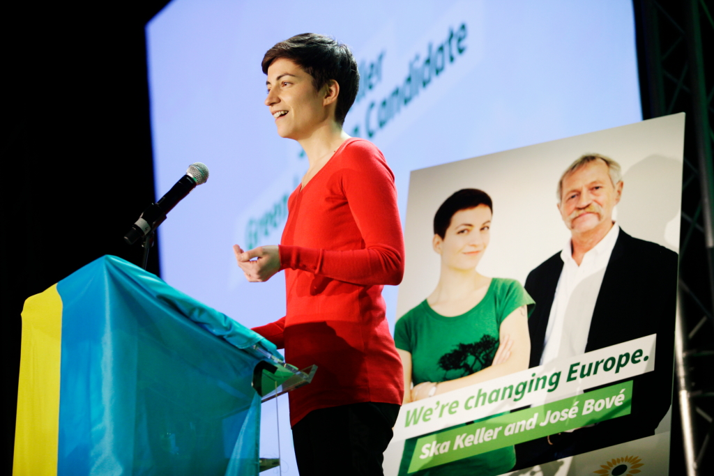 green party campaign speech