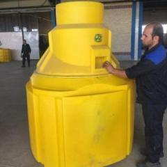 Polyethylene manhole